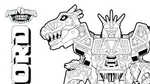 Power Rangers Dino Thunder Colouring Pages Coloring Charge Pdf New