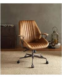 brown leather office chair. Beautiful Leather Hamilton Top Grain Leather Office Chair In Coffee Intended Brown