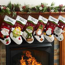 christmas stocking set. Fine Christmas Personalized Winter Hat Christmas Stocking Available In Different  Characters  Walmartcom On Set F
