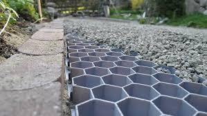 how to gravel a driveway and path laying a patio base and slabs diy doctor