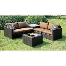 Mila Wicker 3Piece Outdoor Tea Table Set  Samu0027s ClubThree Piece Outdoor Furniture