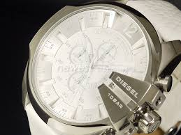 newestshop rakuten global market diesel diesel mega chief diesel diesel mega chief メガチーフ dz4292 white dz 4292 watch for men