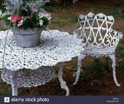 white iron garden furniture. wonderful garden ornate white victorian iron garden furniture and a pot of plants for white iron garden furniture r