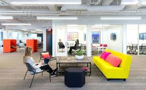 office seating area. Office Seating Area The Space Is Mostly Made Up Of Benching Stations With Offices Located Along E