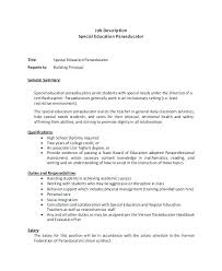 Education Cover Letters paraprofessional cover letter sample micxikineme 93