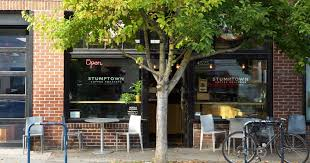 The company, which consists of a roastery and several caf locations in downtown portland, ore., is known for roasting its coffee by hand in small batches. Portland Coffee Hipsters Are So Over Stumptown S Sale Sellout To Peet S