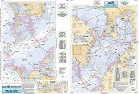 Inshore Tampa Bay Fl Laminated Nautical Navigation Fishing Chart By Captain Segulls Nautical Sportfishing Charts Chart Tmb135
