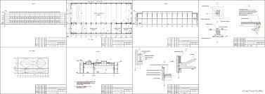 Курсовые и дипломные проекты промышленные здания скачать dwg  Курсовой проект Цех для ремонта комбайнов г