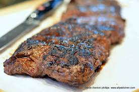 This coffee and cola marinated skirt steak was the most delicious thing i've grilled all year. Grilled Spicy Skirt Steak Steak Recipes Ally S Kitchen