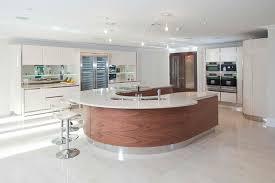 modern curved kitchen island. Interesting Island 16 Divine Modern Kitchen Designs With Curved Island Inside  Islands Prepare  For O