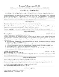 Radiographer Cover Letter Radiographer Resume Sample Resume Cover