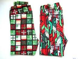 Lularoe Tc2 Size Chart Details About Lot 2 Lularoe Tc2 Santa Snowman Tall Curvy Green Red New Stretch Leggings