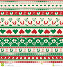 christmas sweater pattern background green. Unique Sweater Seamless Winter Sweater Pattern With Hearts And Owls RedGreen Version  Can Be Used For Wallpaper Fills Web Page Background  Intended Christmas Pattern Background Green C