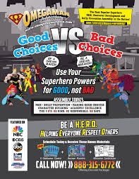 Superhero Anti Bullying School Assemblies Newyork Kentucky Omegaman