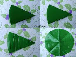 Paper Crafts For Christmas Christmas Craft Ideas Paper Christmas Tree Tutorial Craft Ideas