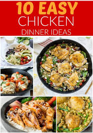 easy chicken dinner recipes. Interesting Dinner Whenever Iu0027m Needing Dinner Inspiration I Turn To These 10 Easy Chicken  Dinner To Recipes N
