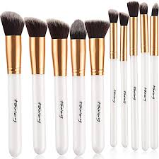 foolzy br 15c professional makeup brushes white kit 10 no s foolzy br 15c professional makeup brushes white kit 10 no s at best s in india
