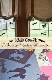 love halloween window decor: halloween is one of my boys favorite holidays cute kids crafts make great halloween