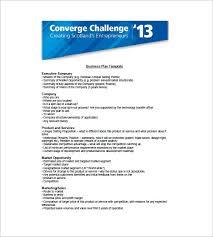 Executive Sumary Marketing Plan Executive Summary Template 16 Free Pdf Word