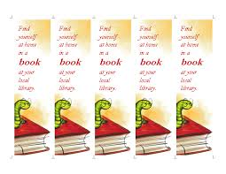 Bookmark Template Word Library Bookmark Template Word Templates