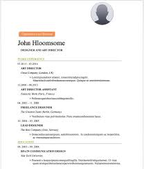 Resume Templates Free Enchanting 60 Free Resume Word Templates To Impress Your Employer Responsive