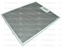 Hood Grease Filter Uk Whitegoods Spares 353110 Metal Cooker Hood Grease Filter