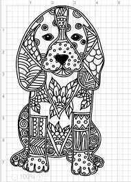 Kleurplaat Volwassenen Hond Woyaoluinfo