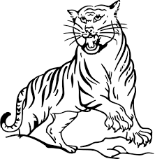 Small Picture Realistic Tiger Coloring Pages Realistic Coloring Pages in Tiger