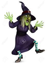 3d Dessin Anim Halloween Sorci Re Folle Banque D Images Et Photos