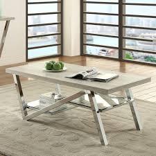 coaster furniture coffee table coaster contemporary coffee table with chrome legs coaster furniture coffee table with