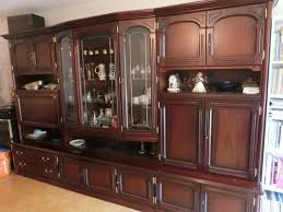 antique wooden wall unit for at pamono