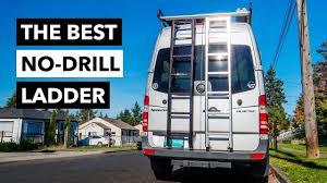Prime Design Van Ladder The Best Van Ladder Ever Prime Design No Drill Rear Access Door Ladder