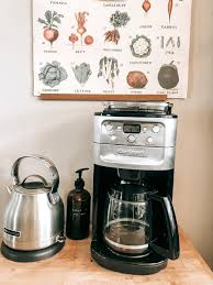 Coffee iced tea maker comes with a 3 quart dishwasher safe pitcher, adjustable brew strength, dishwasher safe brew basket and 4 flavor infused recipes. The Farmer And I Farm Floral Studio Homemaking