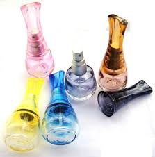 Small Decorative Bottles Wholesale Free shipping Retail Glass apple design spray perfume atomizer 2
