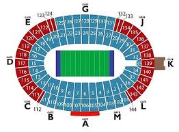 Oklahoma Sooner Football Stadium Seating Chart New Seating Chart For Cotton Bowl Ticketcity Insider