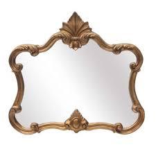 gold ornate overmantle mirror saint décor