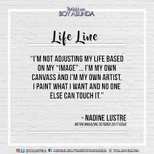 Life Line Quotes TWBA LIFE LINE 100 Inspirational quotes by Kapamilya stars 20