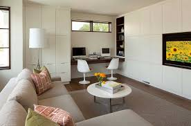 view in gallery turn the living room corner into a ive workspace design swan architecture