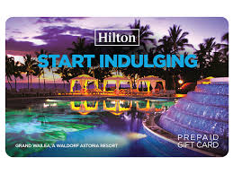 start indulging with hilton gift card
