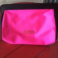 prada candy light pink perfume cosmetic makeup case bag new