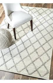gray and ivory rug rugs trinket diamond trellis light grey area