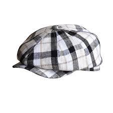 <b>Fibonacci Brand Quality</b> Flat Newsboy Cap For Men Women Cotton ...