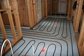 In Slab Radiant Heating Design Radiant Heat Under Existing Wood Floors Heated Tile Floor