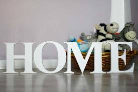 Personalizing Interior Decorating With DIY Wooden Letters Numbers Letter S Home Decor