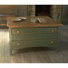 Coffee Table With Drawers 3 Drawer Shaker Square Coffee Table Sturbridge Yankee Workshop