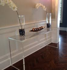 acrylic console table uk console table ideas small console tables
