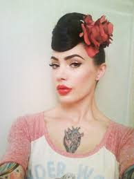 the perfect pinup eyebrow micheline pitt modern pinup hair makeup