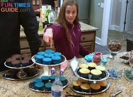 Everything You Need For A Diy Cupcake Station Dessert Bar My Best