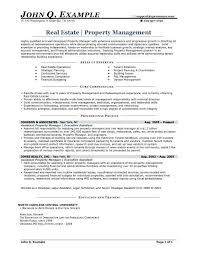 Property Manager Resume Samples] Resume Objective Examples with Assistant Property  Manager Resume Template