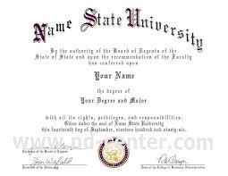 Sample Degree Certificates Of Universities Fake University Certificates Free Azizim Co